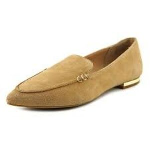 Steve Madden • Fausto Tan Suede Point Toe Loafer